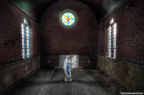 The Blessed Urbex Virgin | by Lucid Dreams Photo