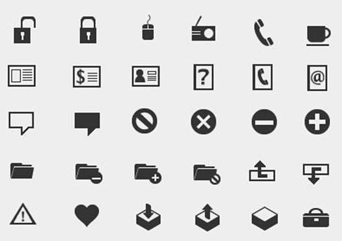 Free Mono and Simple Icons