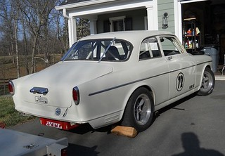 1967 Volvo 122 Vintage Race Car For Sale Rear | Bring A