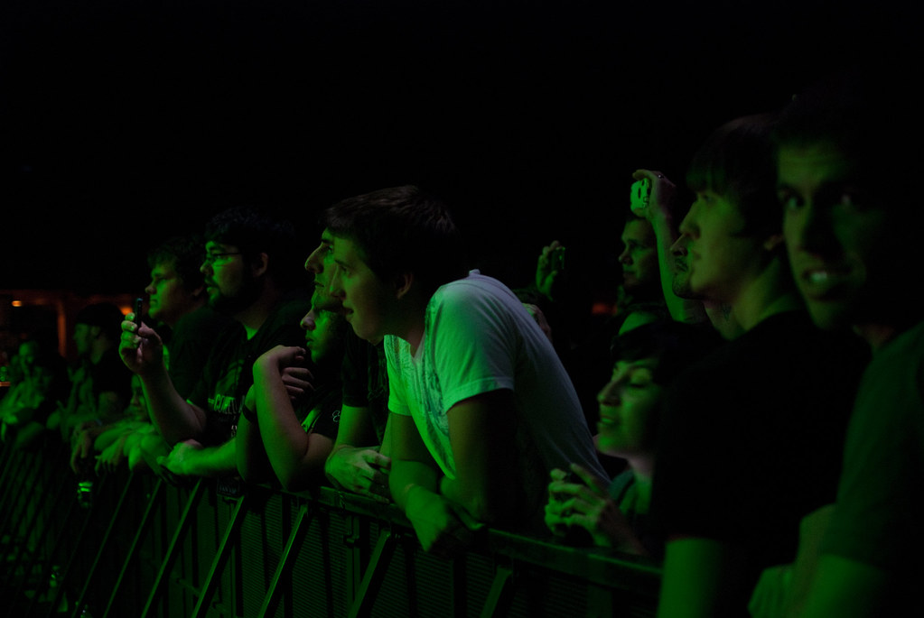 vip coheed and cambria fans neverender sstb dallas tx flickr. Black Bedroom Furniture Sets. Home Design Ideas