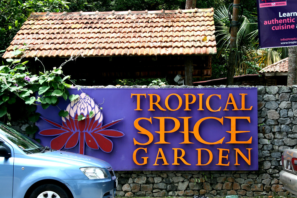 Entrance of the Tropical Spice Garden