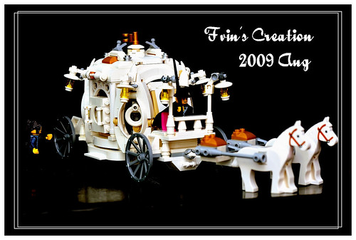 The Cinderella horse carriage