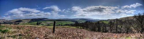 sky panorama scotland europe view britain scene vista stitched hdr moffat