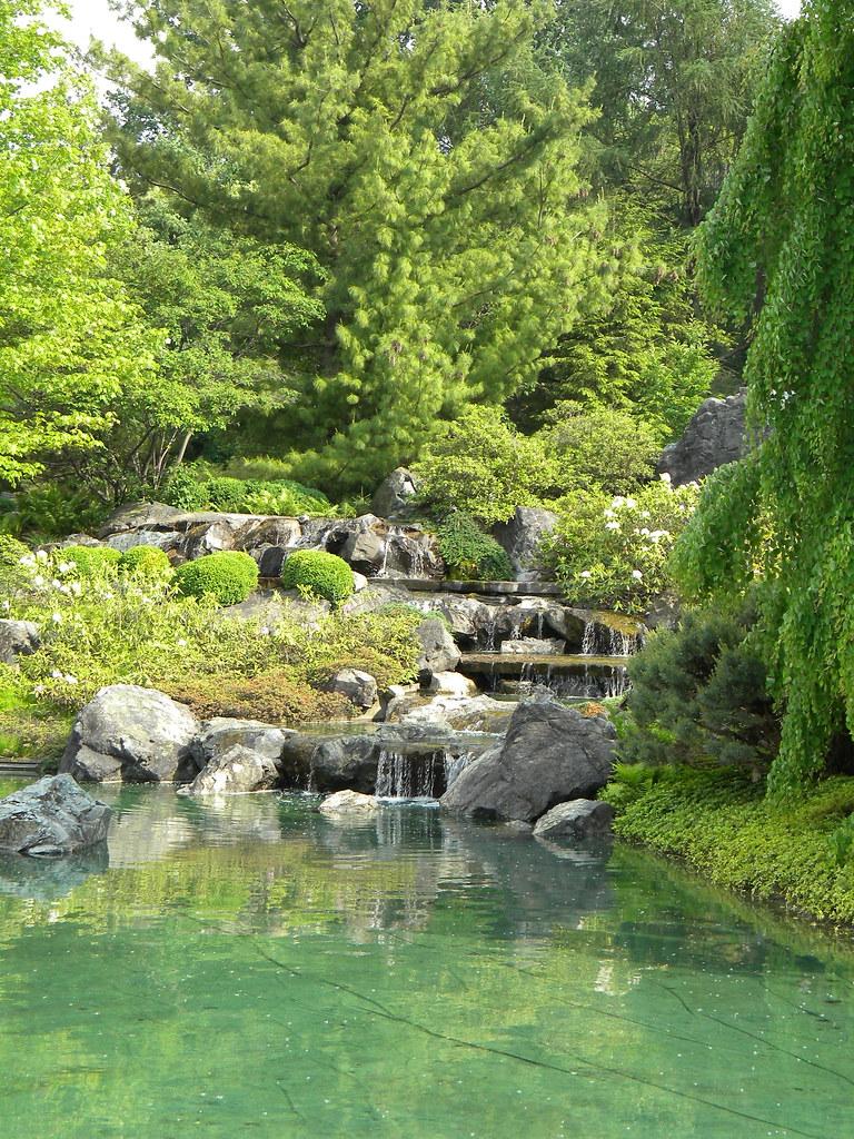 MONTREAL JAPANESE GARDEN WATERFALL TOONARIPOST A NEWS MASH UP