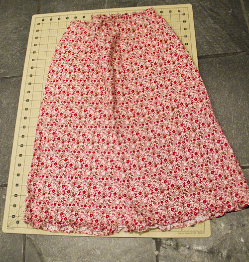 Tiered Skirt Before