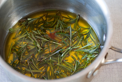 Rosemary Infused Olive Oil | by Veganbaking.net