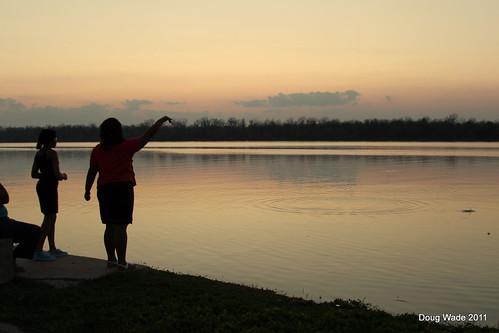 sunset mississippi ms mississippiriver splash greenville oxbow levee lakeferguson magnoliabelle lakefergusongreenville