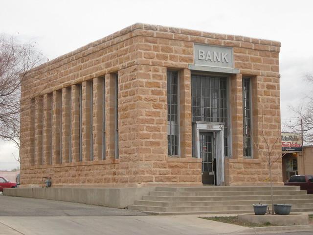 Bank Building in Blanding