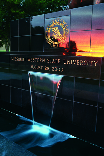 art buildings clocktower sculptures campusscenes