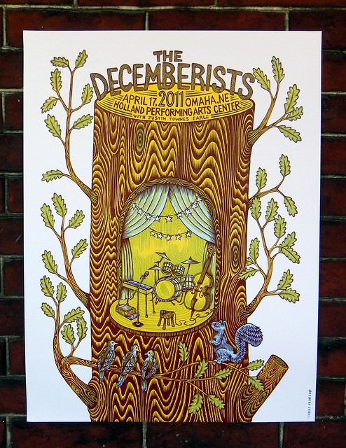 Tugboat Printshop // The Decemberists