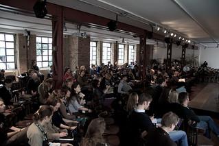 Publikum im Großen Saal   by recampaign