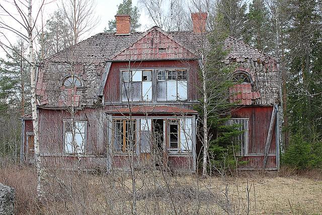 Old abandoned house Sweden
