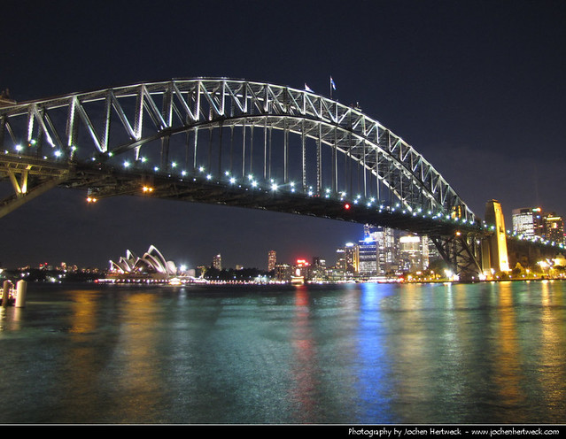 View from Milsons Point, Sydney, Australia