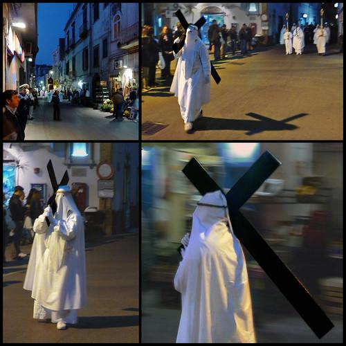 Giovedì Santo.la processione degli apostoli