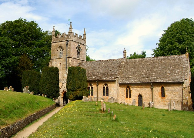 The Village of Upper Slaughter - The Parish Church of St. Peter