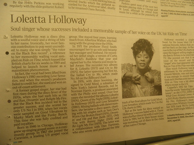 Loleatta Holloway: Ride on Time