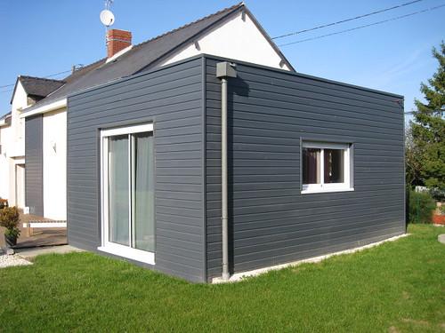 bardage en bois de couleur carquefou bois flickr. Black Bedroom Furniture Sets. Home Design Ideas