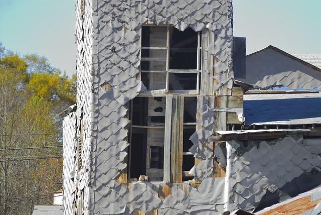 Elevator tower, Pendleton Oil Mill, Pendleton, SC