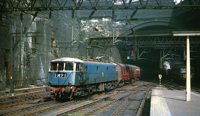 E3017 arriving Liverpool Lime St. 1964