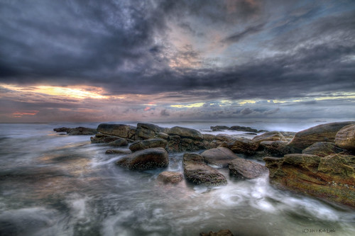 seascape natal sunrise landscape southafrica seaside rocks surf durban umhlangarocks kwazulu