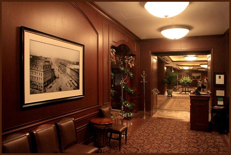 Lobby of the Omni Hotel, San Francisco
