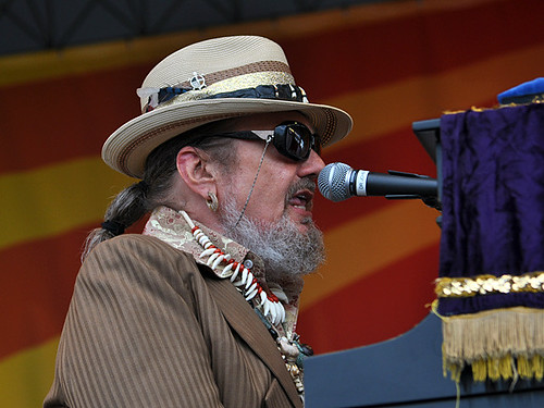 Dr John on the Acura Stage