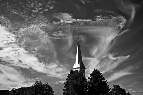 2016 blackwhite bw canada cantonsdelest church ciel clouds coaticook d90 église été juillet nature nikkor18300mm nikon nikond90 noiretblanc nuages paysage saintvenantdepaquette sky québec 2016©rpd'aoust montréal