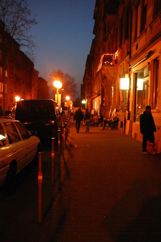 2011 - 1 - Street of Cafe Blau, Mannheim Germany | Mannheim