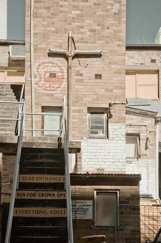 Bondi Junction Entrance For Grown-Ups | by emmettanderson