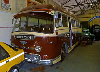 AEC Reliance Duple Britannia Bodied coach at the Dover Transport Museum | by Beer Dave