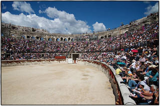 Arènes de Nîmes - Waiting for the Gladiators | by Davdup