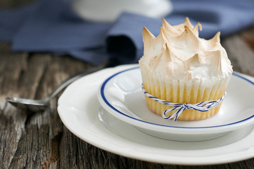 Lemon Meringue Cupcakes   by Jordana Lea