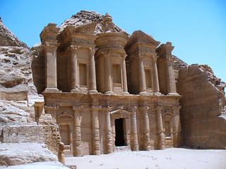 Al Deir in Petra, Jordan.