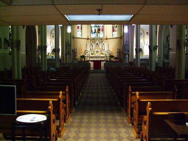 St. Francis (Perpetual Adoration) Chapel at St. Elizabeth Hospital, Lafayette, IN