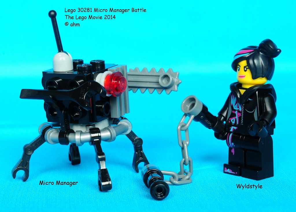 Lego The Lego Movie 30281 Micro Manager Battle Lego The Le Flickr