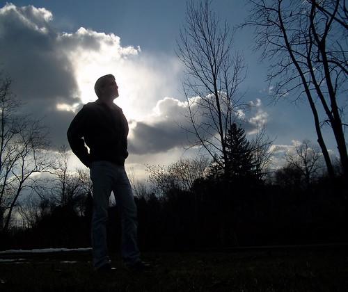 gay sunset portrait selfportrait man clouds beard saltandpepper project365 davidsullivan davidnewengland