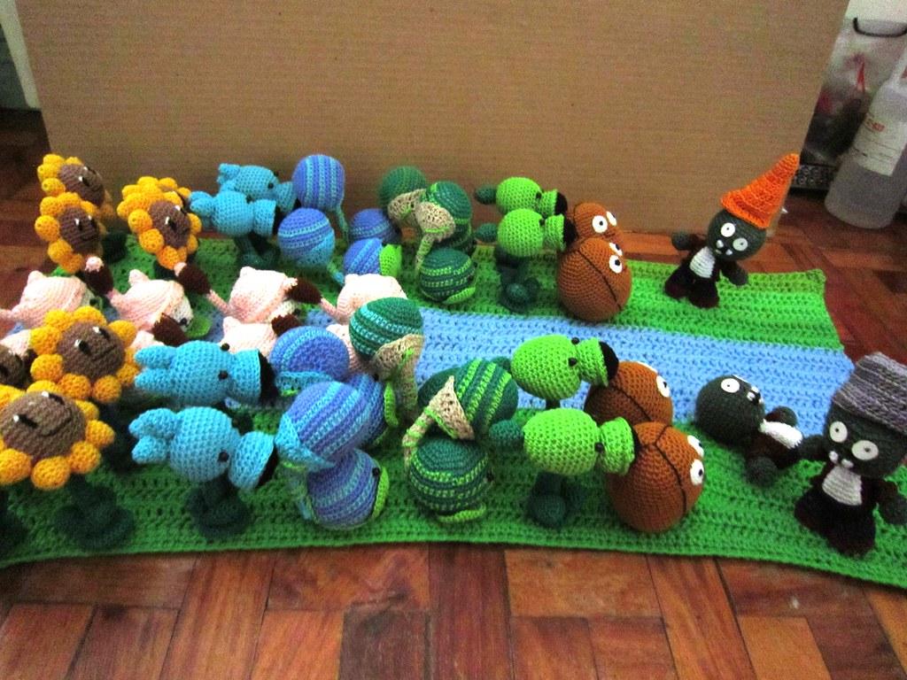 40 Best Plants Vs Zombies Crochet images | Plants vs zombies ... | 768x1024