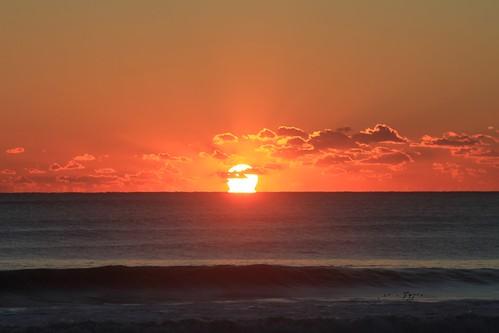 海岸 日の出 朝日