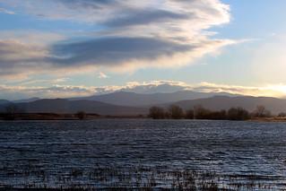 Mountain View Across the Lake   by Mountain Roamer