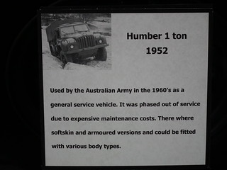 1952 Humber FV 1600 1 ton truck