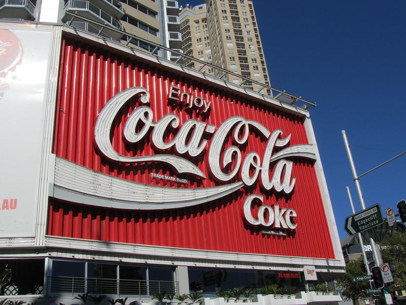 Coca Cola Sign Sydney