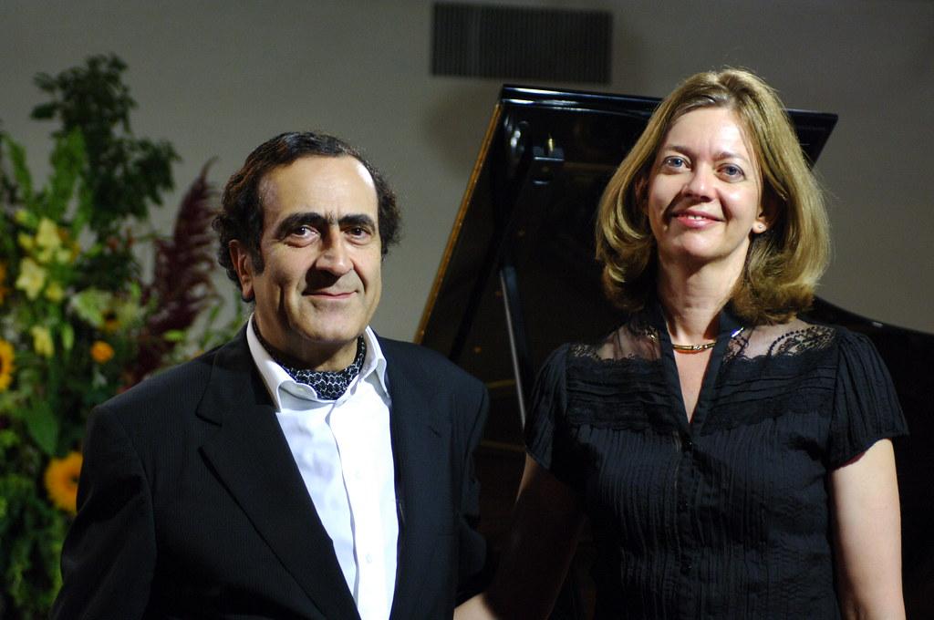 Danielle Echevarria en compagnie de Michel Sogny