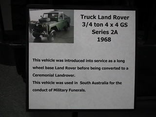 1968 Land Rover Series 2A LWB - Ceremonial Vehicle