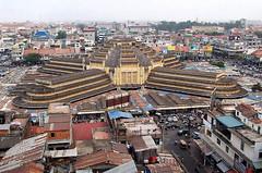 Marché central - Chợ Mới Phom Penh