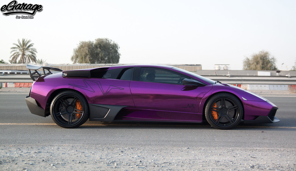 Purple Lamborghini Murcielago Sv Www Egarage Com Join Us O Flickr
