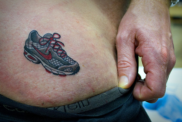 Tiny Flickr Sneakers Running TattooTattooed Lil Shoe A Couple Fo… wZiXOPkuT