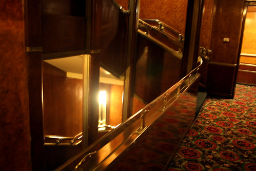 Queen Mary - Staircase - Main Deck - Not Quite Aft | by Miss Shari