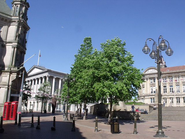 Victoria Square - a few days after the Royal Wedding