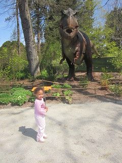 05-01-11 - Dinosaurs at the zoo | by Carl, Susan, Maya & Quattro Haynes