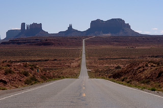 leaving monument valley | by amigadave